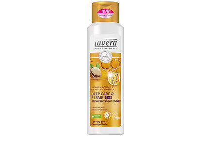 Lavera - lavera Hair Deep Care & Repair 2in1 Shampoo & Conditioner Shampoo & Hoitoaine 250ml