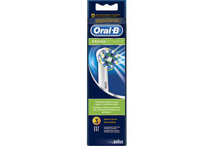 Oral-B - Oral-B CrossAction vaihtoharja 3kpl