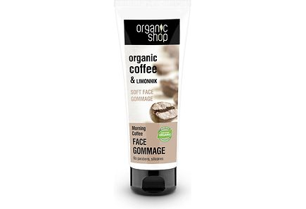 Organic Shop - Organic Shop  Soft Face Gommage Morning Coffee kasvokuorinta 75 ml