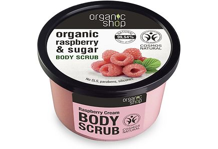 Organic Shop - Organic Shop Raspberry Cream vartalokuorinta 250 ml