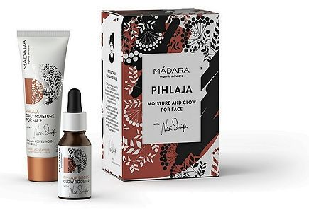 Madara - Mádara Pihlaja Moisture and Glow for Face lahjapakkaus