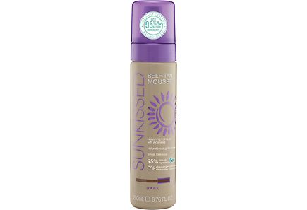 SUNKISSED - Sunkissed 200ml Dark Bronze Instant Self Tanning Mousse Itseruskettava