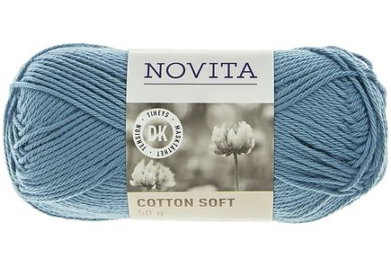Novita - Novita Cotton Soft 50g väri 120