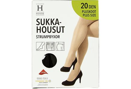 House - House Plus Size sukkahousut 20 den