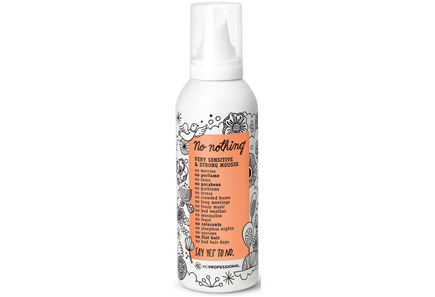 No Nothing - No nothing Very Sensitive Strong Mousse vahva muotovaahto 200 ml