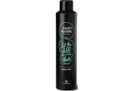 Four Reasons Black Edition - KC Professional Four Reasons Black Edit Working Spray muotoilusuihke 300 ml