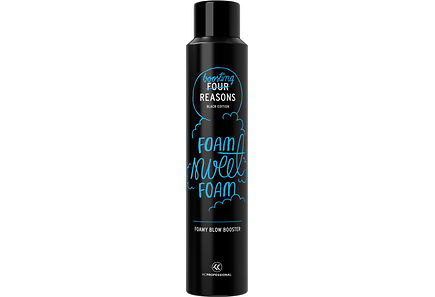 Four Reasons Black Edition - KC Professional Four Reasons Black Edition Foamy Blow Booster föönaussuihke 200 ml
