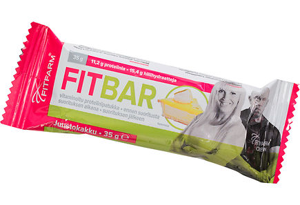 Fitfarm - FitFarm Fit Bar Juustokakku 35g