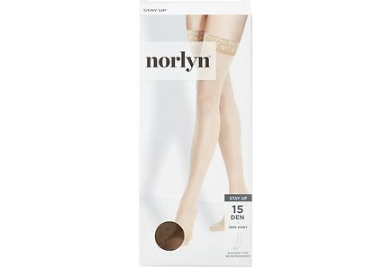 Norlyn - Norlyn naisten stay up sukat 15den