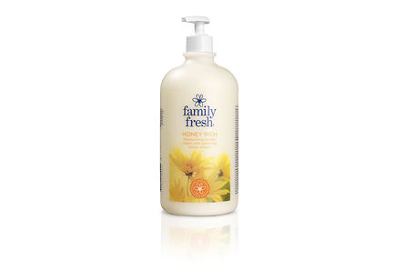 Family Fresh - Family Fresh 1000ml Honey Rich shower cream