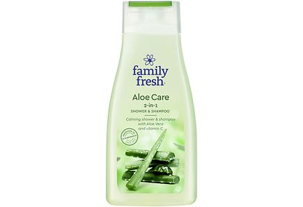 Family Fresh - Family Fresh 500ml Aloe Care shower & shampoo suihkusaippua