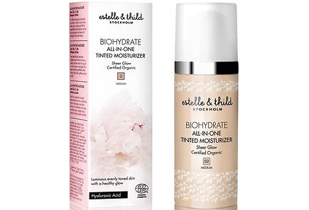 Estelle & Thild - Estelle&Thild BioHydrate All-in-one Tinted Moisturizer sävyttävä kosteusvoide 50 ml, Medium