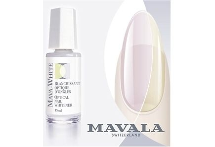 Mavala - Mavala 10ml Mava-White Optical Nail Colour Perfector optinen kynsien värin parantaja