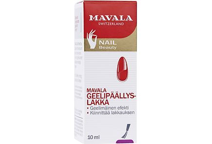 Mavala - Mavala 10ml Gel Finish Top Coat päällyslakka