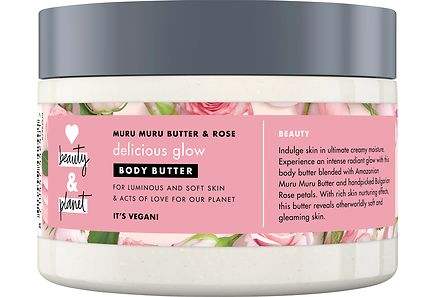 Love Beauty & Planet - Love Beauty and Planet 250ml Body Butter Delicious Glow