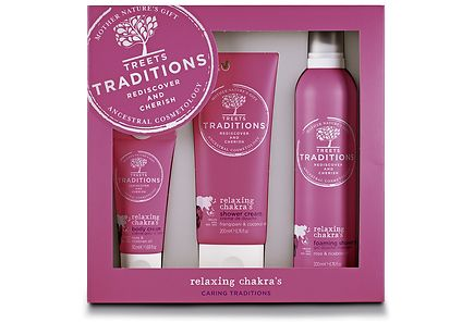 Treets - Treets Traditions Relaxing Chakra's Gift Set lahjapakkaus