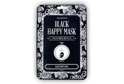 KOCOSTAR - KOCOSTAR Black Happy Mask kangasnaamio