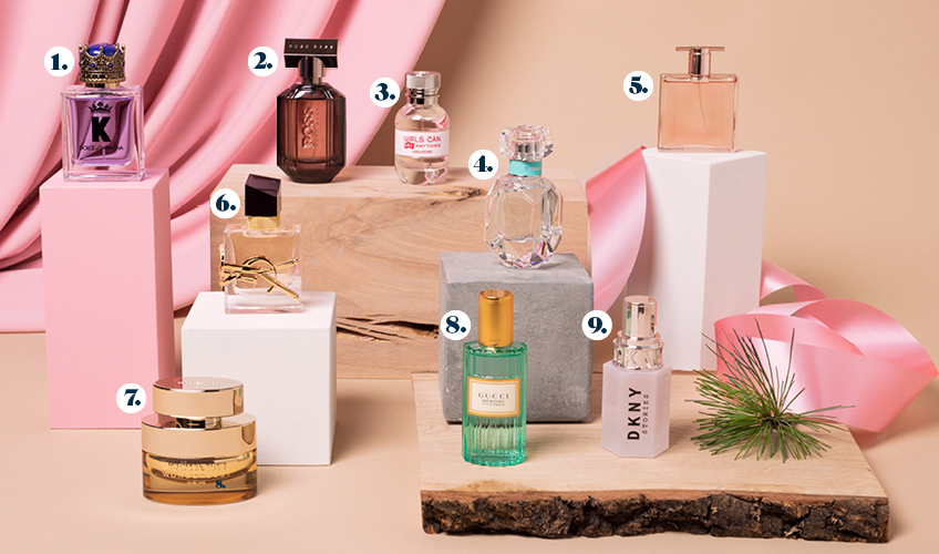Tuoksuäänestys: Dolce & Gabbana K, Hugo Boss The Scent for Her Absolute, Zadig & Voltaire Girls Can Say Anything, Tiffany & Co., Lance Idole, Yves Saint Laurent Libre, Michael Kors Wonderlust Sublime, Gucci Mémoire D'une Odeur ja DKNY Stories.