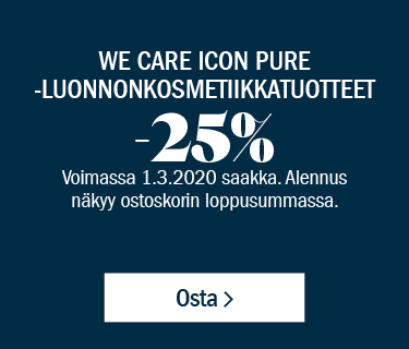 We Care Icon Pure -tuotteet –25 %